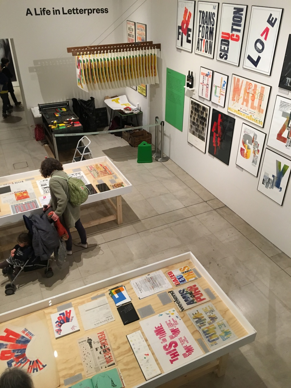 Visited the inspiring 'A Life in Letterpress' exhibition by Alan Kitching at Pick Me Up at Somerset House, had a great day and even got my book signed by the great man himself!