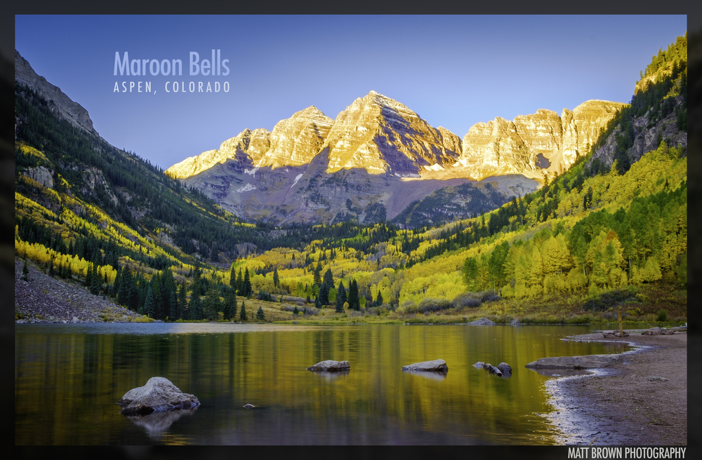 Matt lives in Colorado Springs and enjoys hiking and photography. On a recent visit to Maroon Bells near Aspen, Matt captured this sunrise shot of the peaks. Fun fact: Maroon Bells is one of the most photographed mountains in North America..