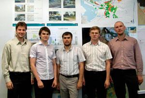 GeoDecisions' Abu Dhabi UPC team