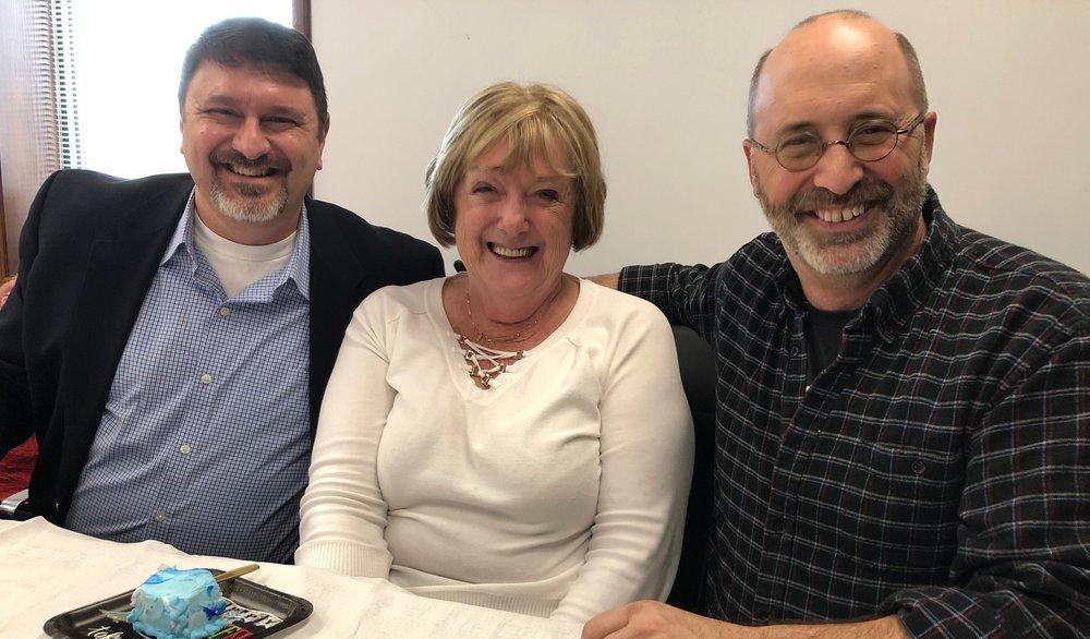 Brendan Wesdock, Sheela Holderman & Dave Gilbert (State College, PA).