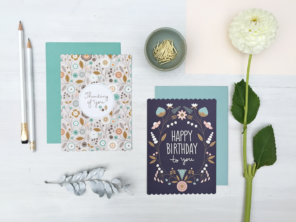 Various Greeting Cards Ask at your local stationery shop