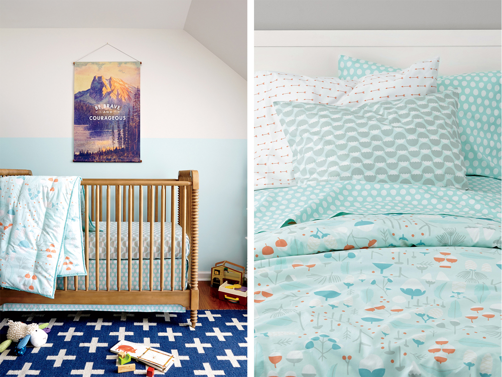 Well-Nested bedding (boys)    > View on Land of Nod