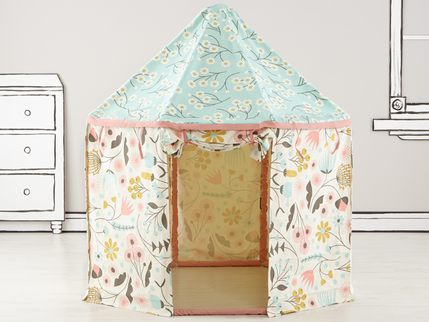 Floral carousel    > View on Land of Nod
