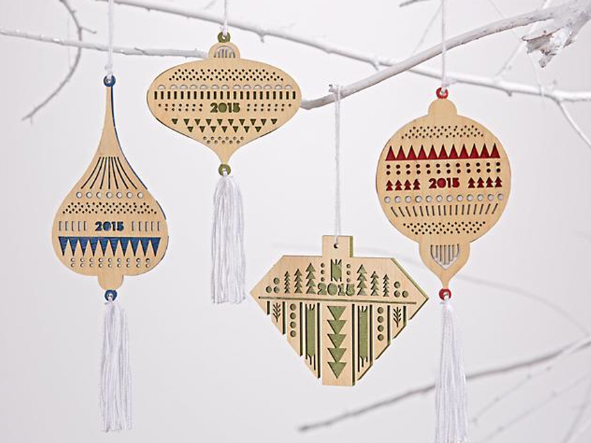 Holiday 2015 ornaments    > View on Land of Nod
