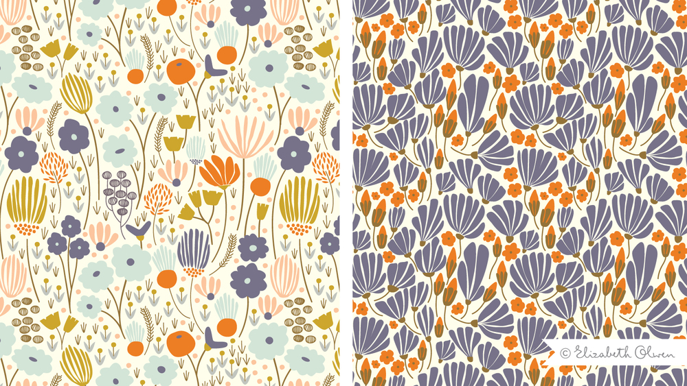 Patterns Elizabeth Olwen Surface Design Delectable Patterns