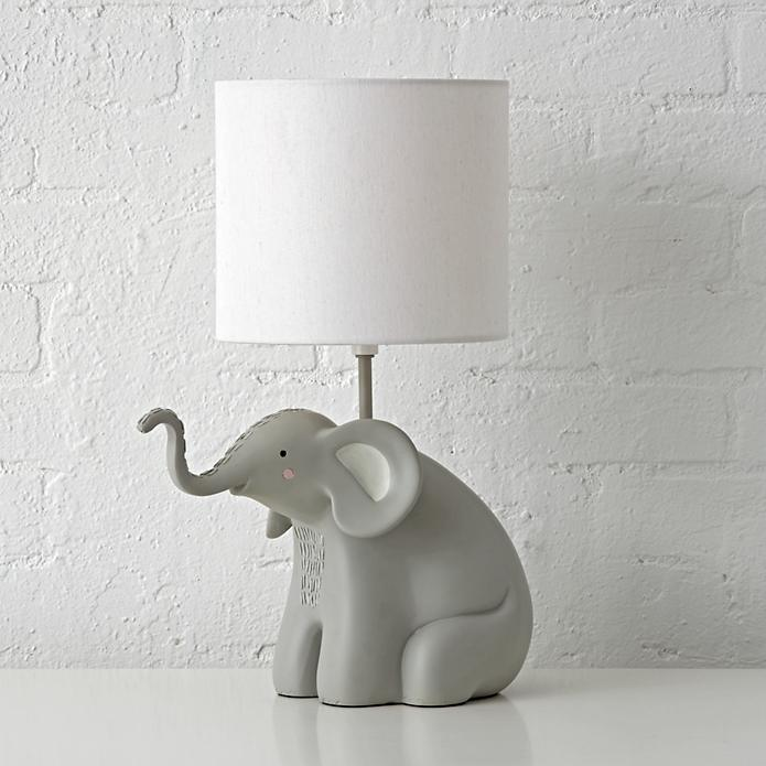 Elephants are so smart — I like to imagine this elephant lamp I designed could give you tidbits of wisdom while also being a source of love, and of course, light.