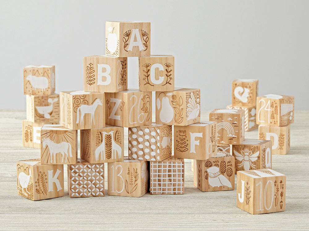 Etched Wooden Blocks   > View on Land of Nod