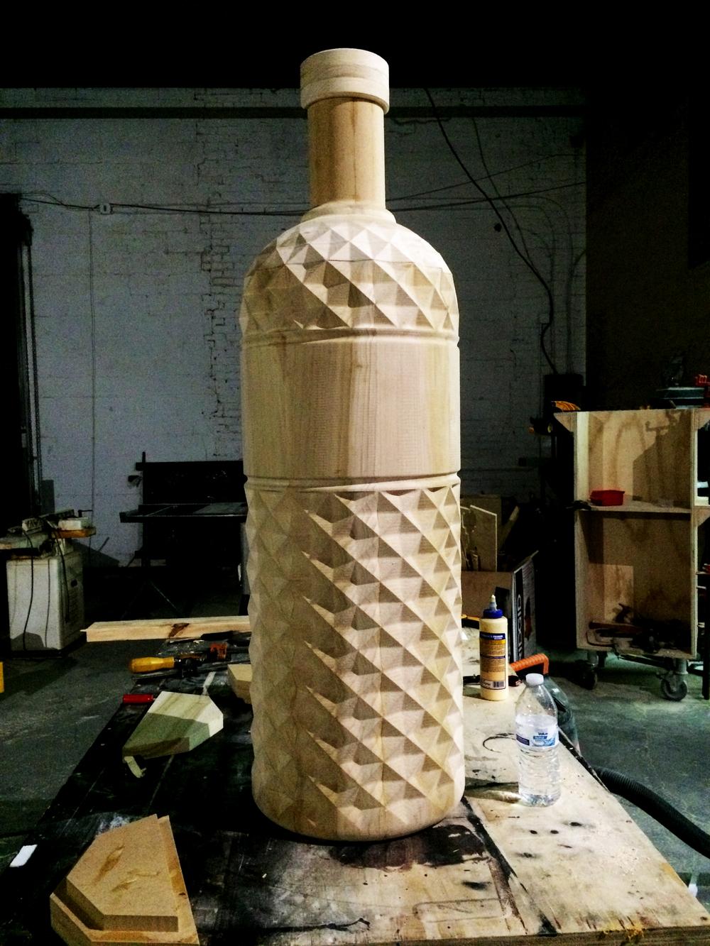 Absolut Vodka CNC Mould