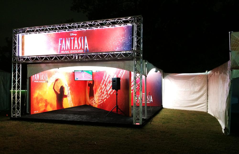 Disney Fantasia Sponsorship Activation at Voodoo Fest 2014