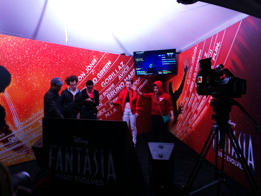 Disney Fantasia Sponsorship Activation at Voodoo 2014
