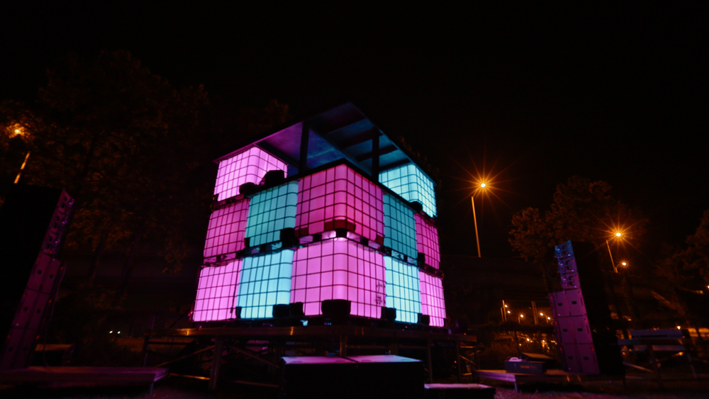 The Cube Stage at Ignition 2015