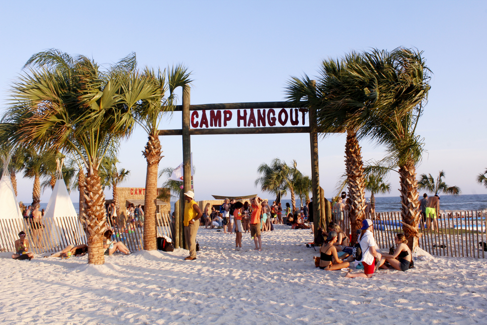 Camp HangOut Entrance at HangOut Music Festival 2016