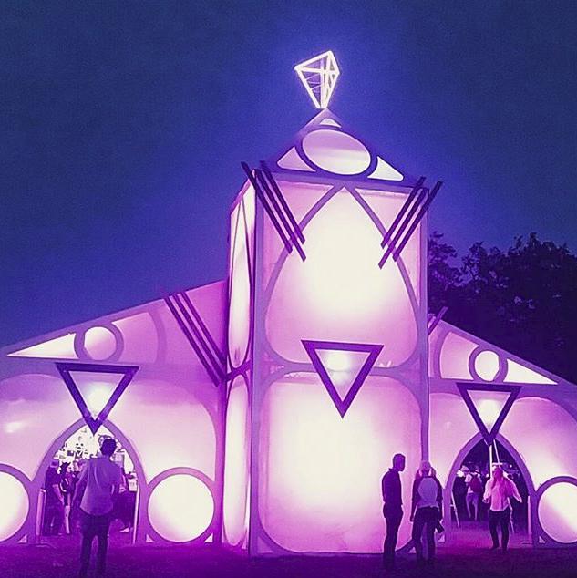 Merch Church at Voodoo Music + Art Experience 2015