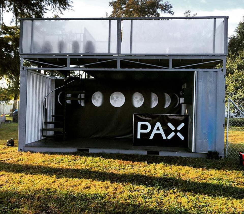 PAX - Sponsorship Activation at Voodoo Music + Art Experience 2015