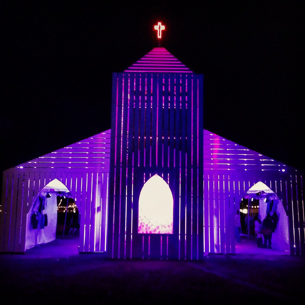 Merch Church at Voodoo Music + Art Experience 2014
