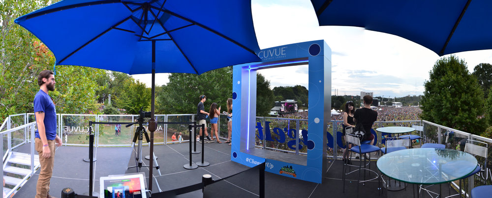 Acuvue Photo Frame at Music Midtown 2016