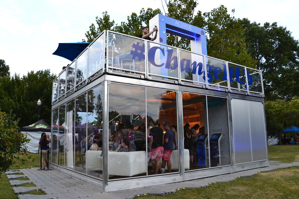 Acuvue Activation at Music Midtown 2016