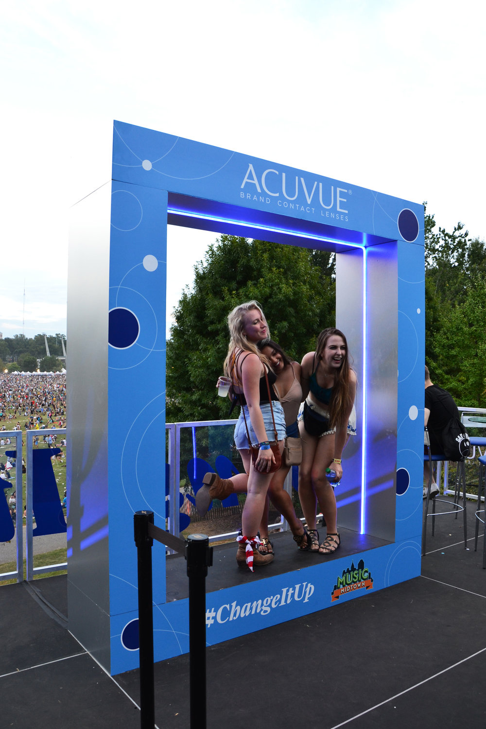 Acuvue PhotoFrame at Music Midtown 2016