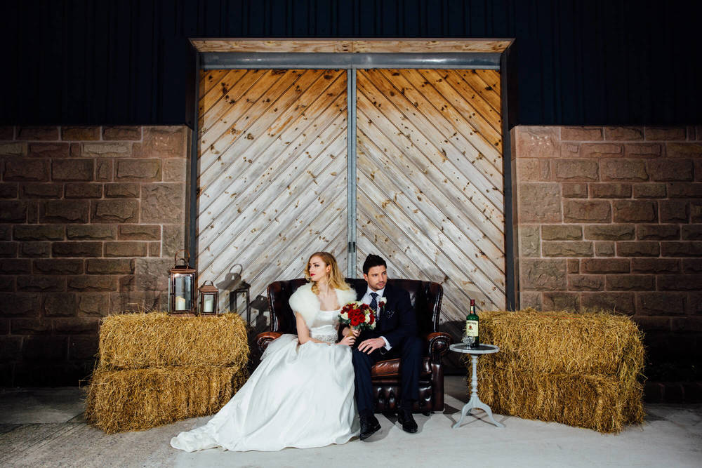 Maureen and Daniel at Heaton House Farm