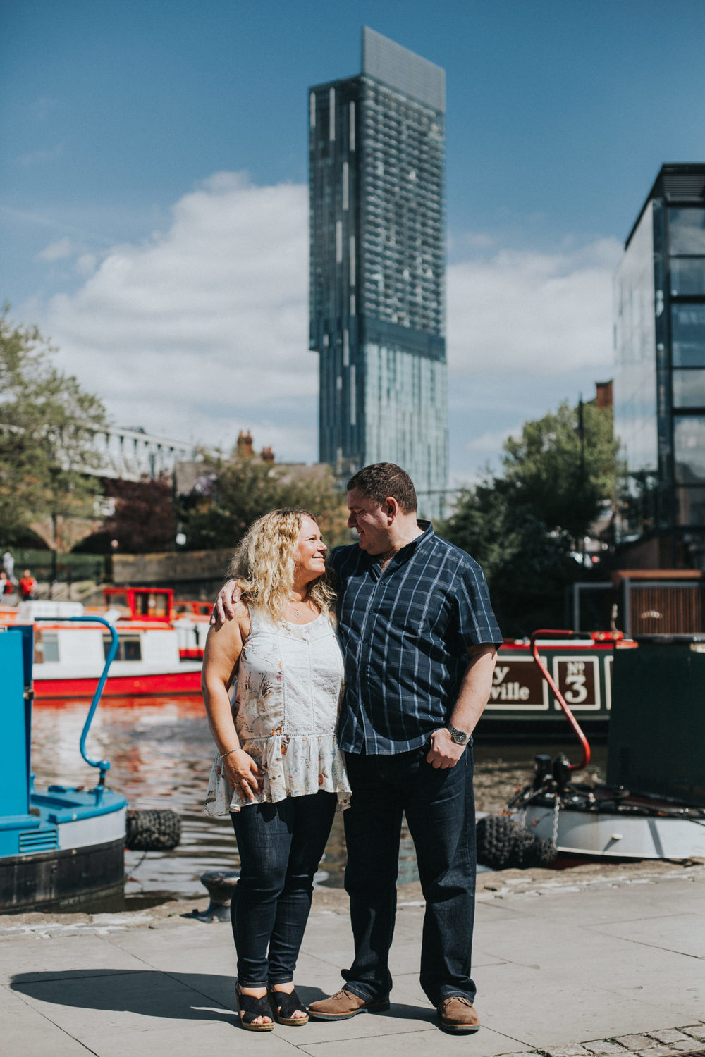 Castlefield Pre-wedding Shoot Deansgate Wedding