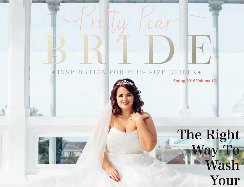Pretty Pear Bride Cover Photo Stephen McGowan Photography
