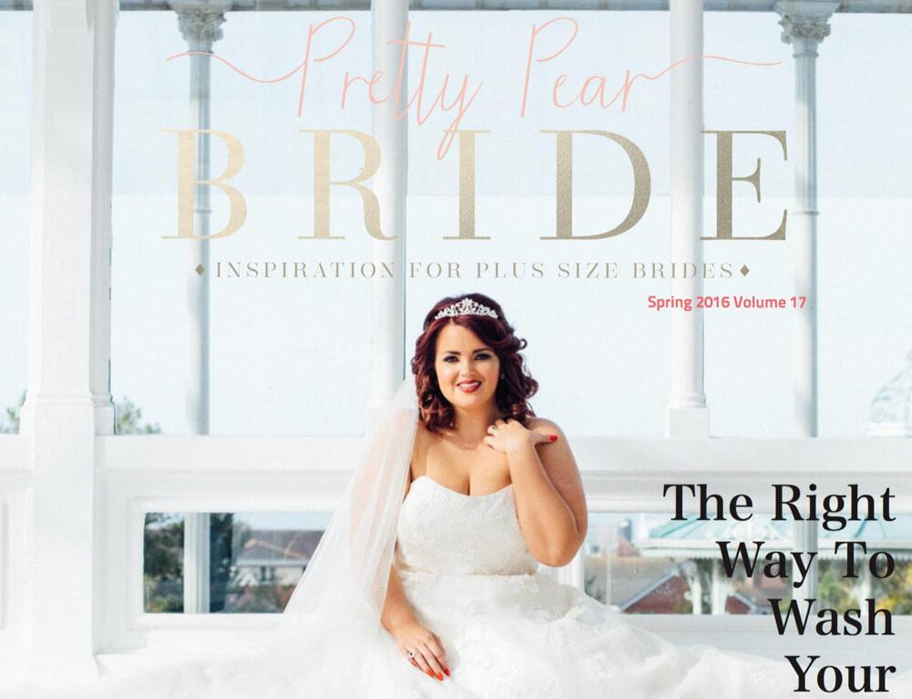 Pretty Pear Bride Cover Photo Stephen McGowan Photography