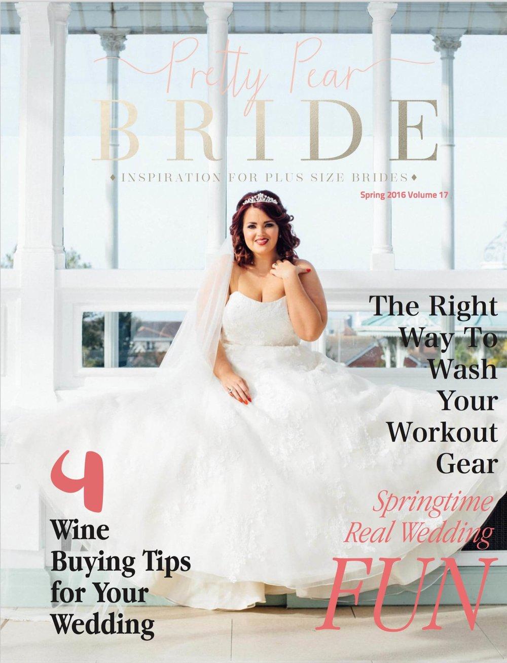 Isla Gladstone Conservatory Pretty Pear Bride Front Cover Stephen McGowan