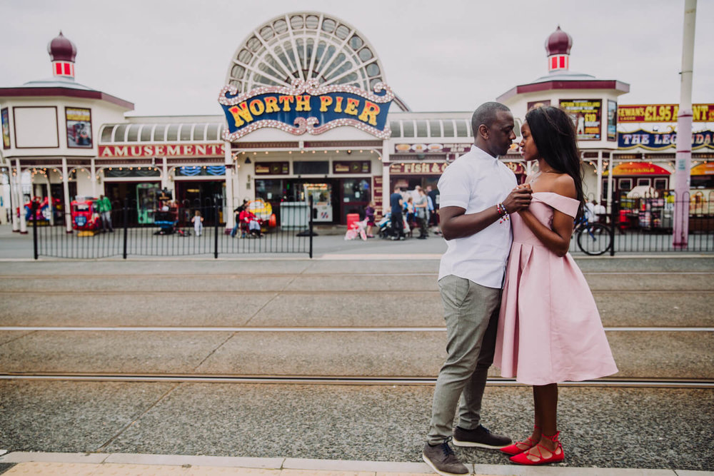 MANCHESTER WEDDING PHOTOGRAPHER STEPHEN MCGOWAN BLACKPOOL WEDDING ENGAGEMENT SHOOT TAPIWA AND SHAMAIN 43.jpg