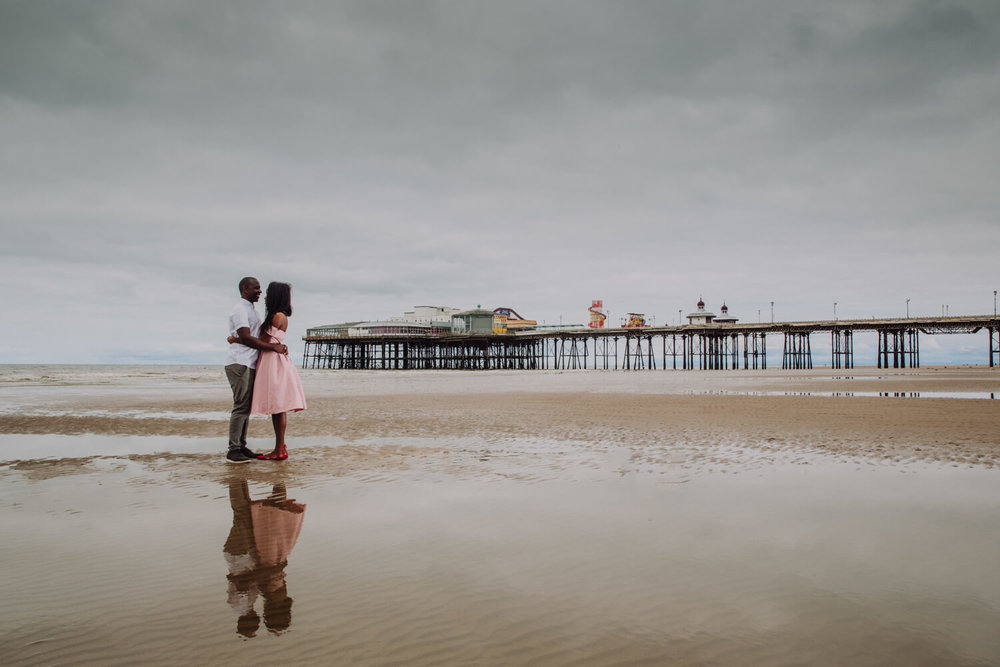 MANCHESTER WEDDING PHOTOGRAPHER STEPHEN MCGOWAN BLACKPOOL WEDDING ENGAGEMENT SHOOT TAPIWA AND SHAMAIN 06.jpg
