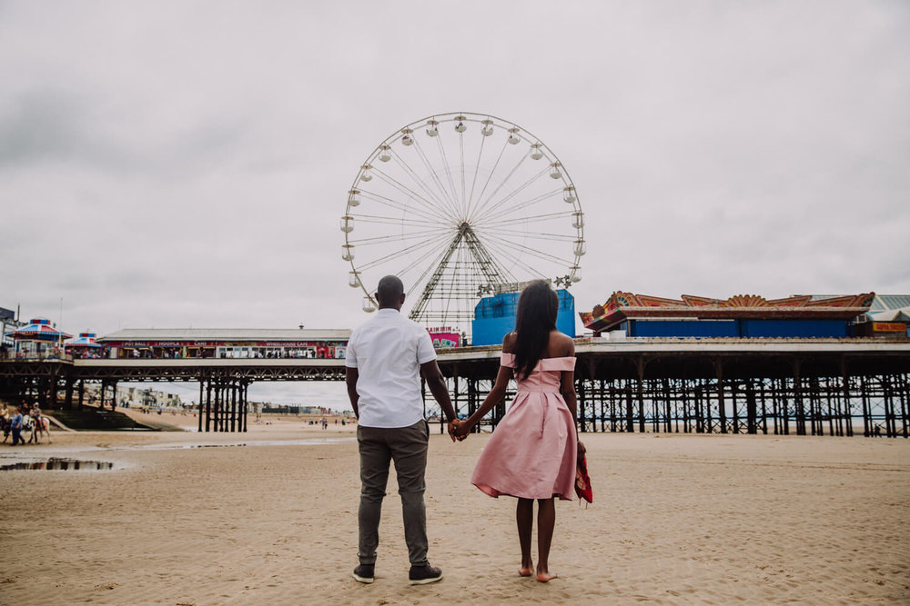 MANCHESTER WEDDING PHOTOGRAPHER STEPHEN MCGOWAN BLACKPOOL WEDDING ENGAGEMENT SHOOT TAPIWA AND SHAMAIN 13.jpg