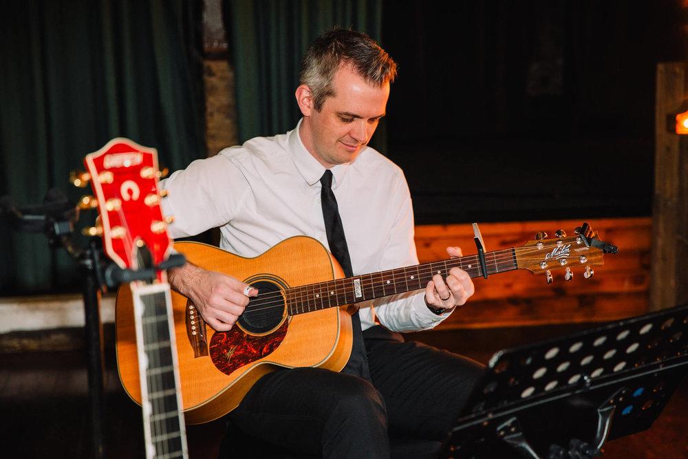 acoustic set by Paul Thornton acoustic guitarist