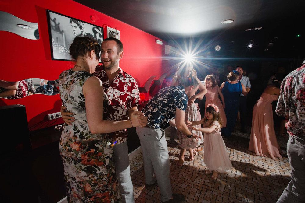 guests dancing on dance floor
