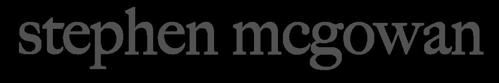 Manchester Wedding Photographer Stephen McGowan Logo