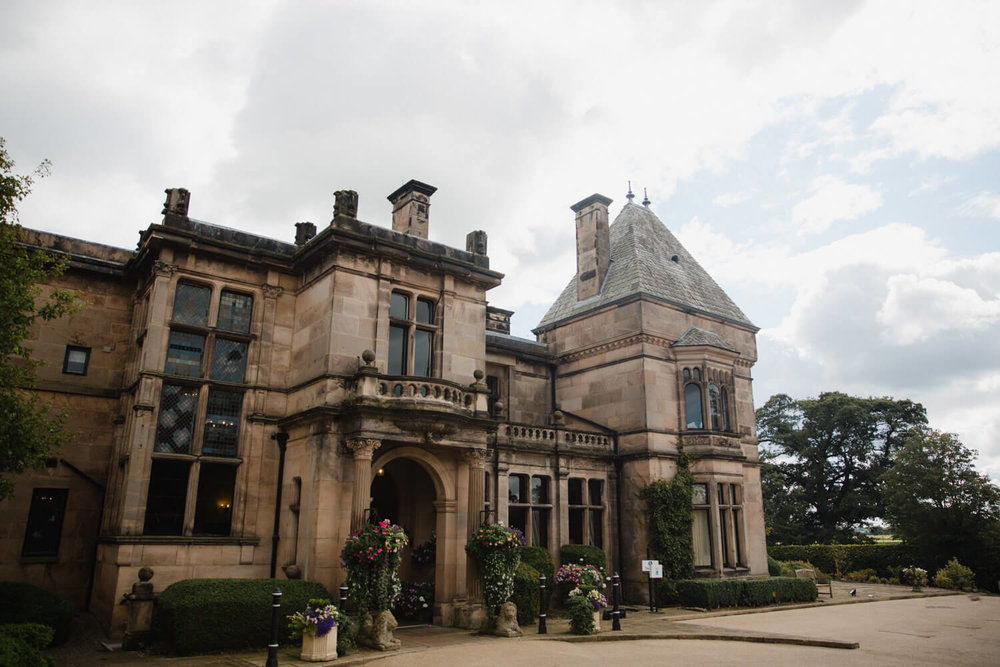 rookery hall wedding venue exterior
