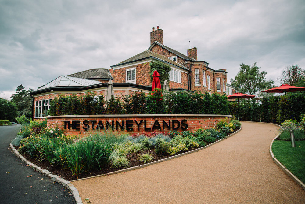 Stanneylands Hotel Wilmslow Wedding Venue