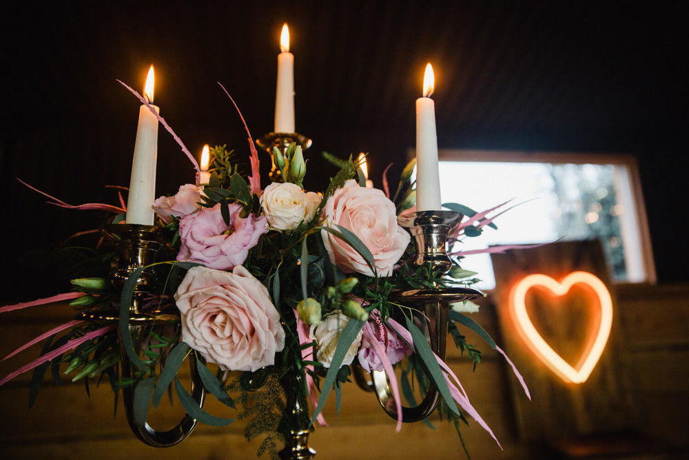 precious things events flowers in candles
