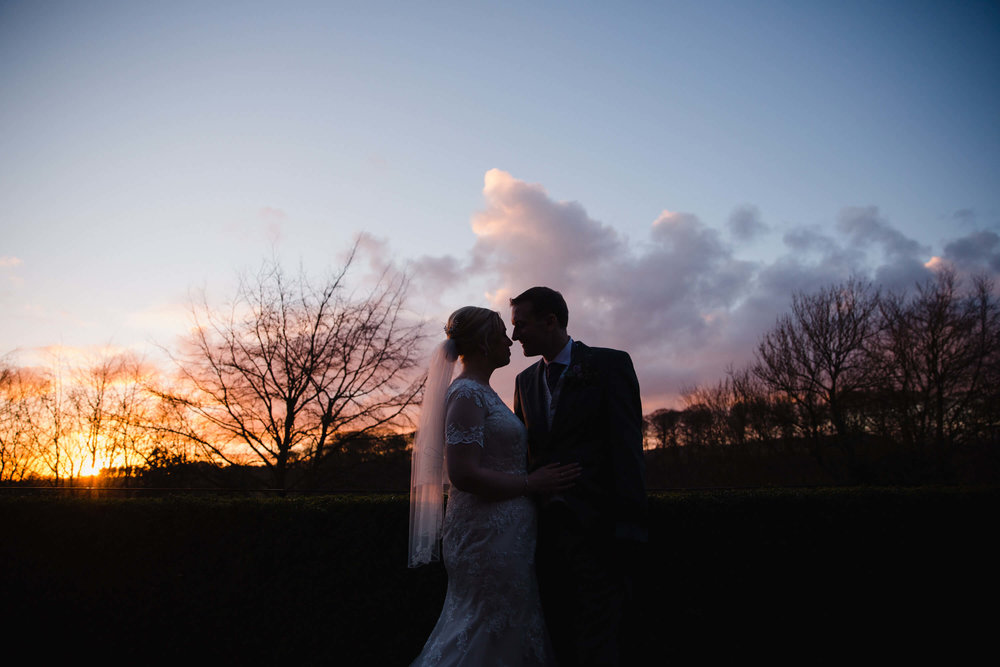 Rachel and David at Mitton Hall