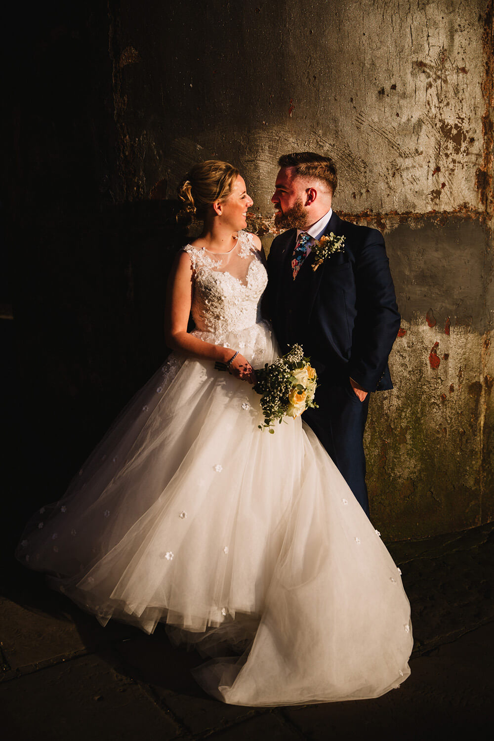 Laura and Liam at The Castlefield Rooms, Deansgate
