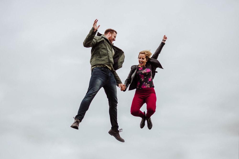 Pre-Wedding Shoot FUN! - Lizzie and Kyle at Lyme Park before their Gorton Monastery Wedding