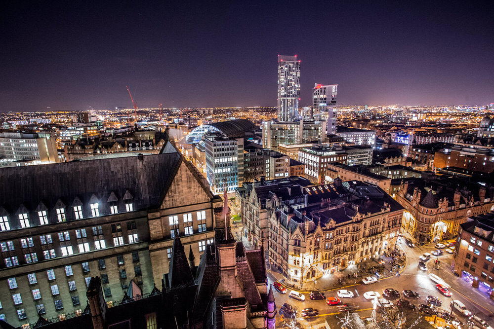 Manchester Cityscape - Taken from Town Hall
