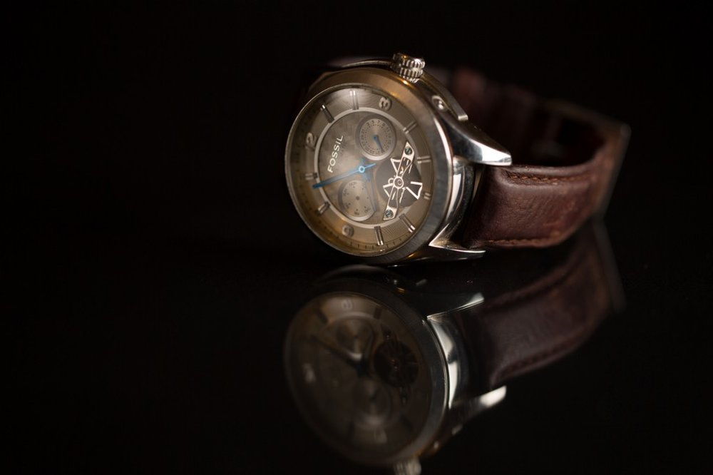 Product Photography for FOSSIL watches