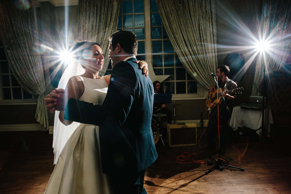 newlyweds slow dance to their song