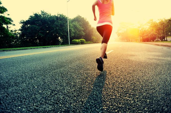 Cardio Wellness Group Woman Exercising
