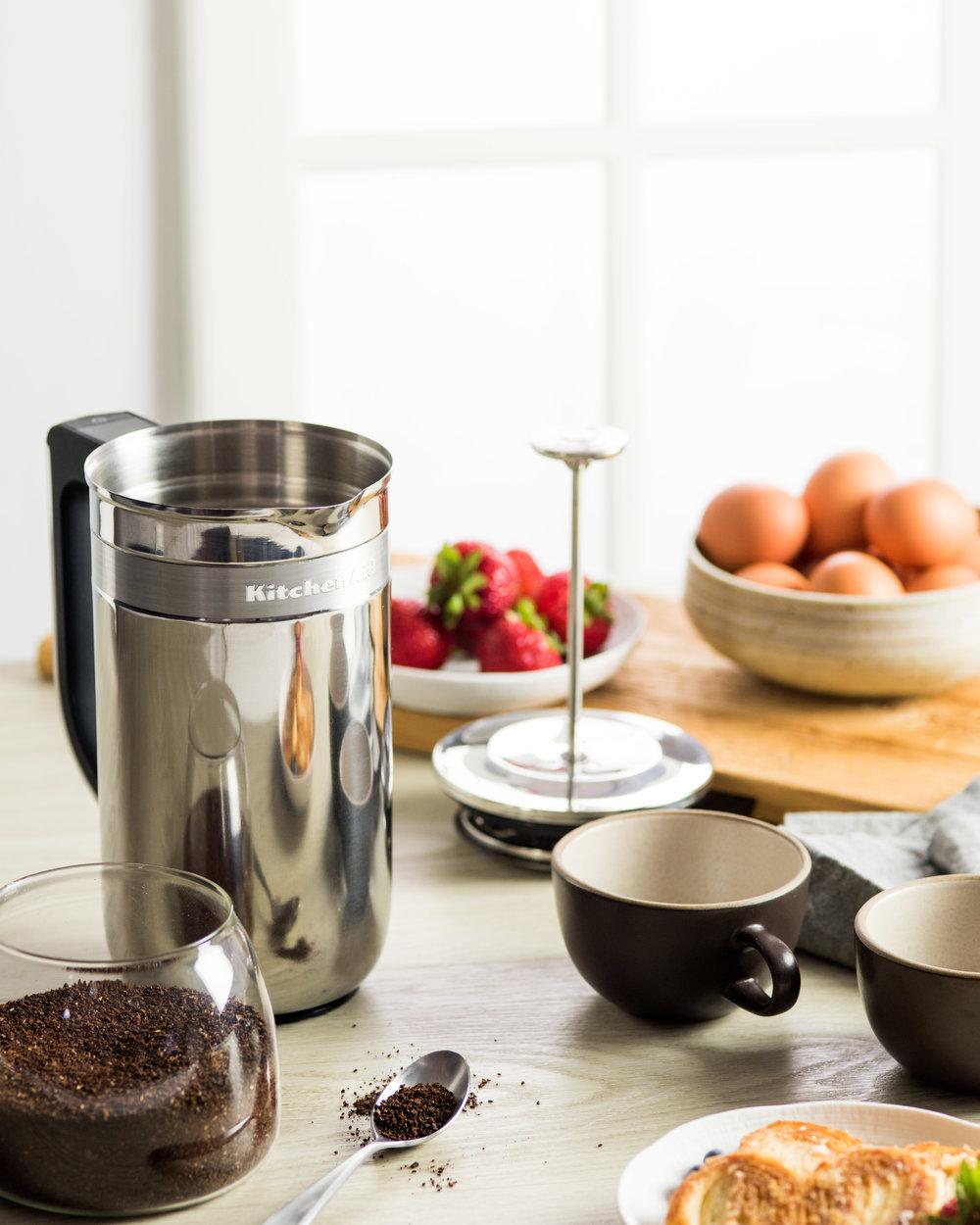 The KitchenAid Precision Press Coffee Maker