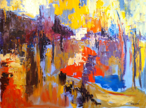 """Wandering, oil on canvas, 36""""x48"""" SOLD"""