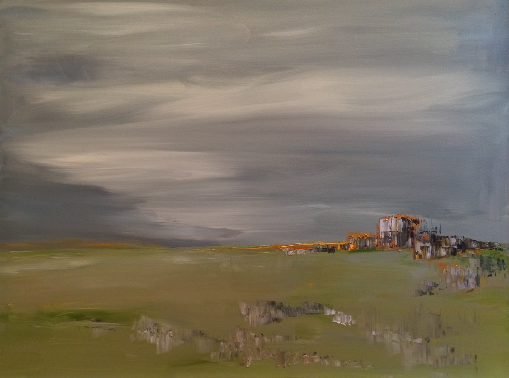 """When the Horizon Calls, oil on canvas, 30""""x40"""" SOLD"""