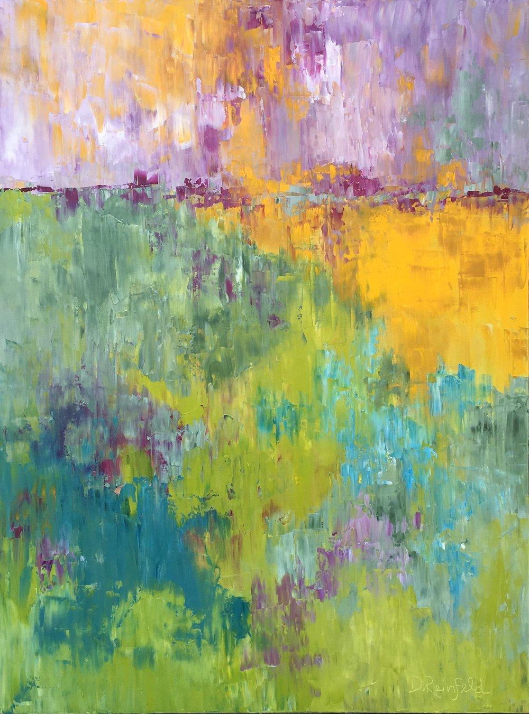 """Hopeful, oil on canvas, 48""""x36""""  $2600"""