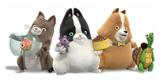 3D animated series Agent Binky; Pets of the Universe