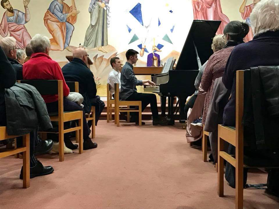 Piano concerts in support of local charities