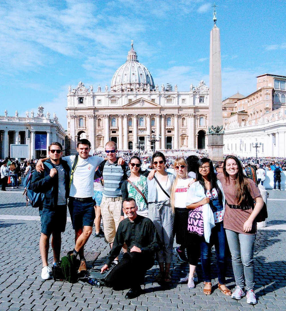 Pilgrimage to the Eternal City to see Pope Francis